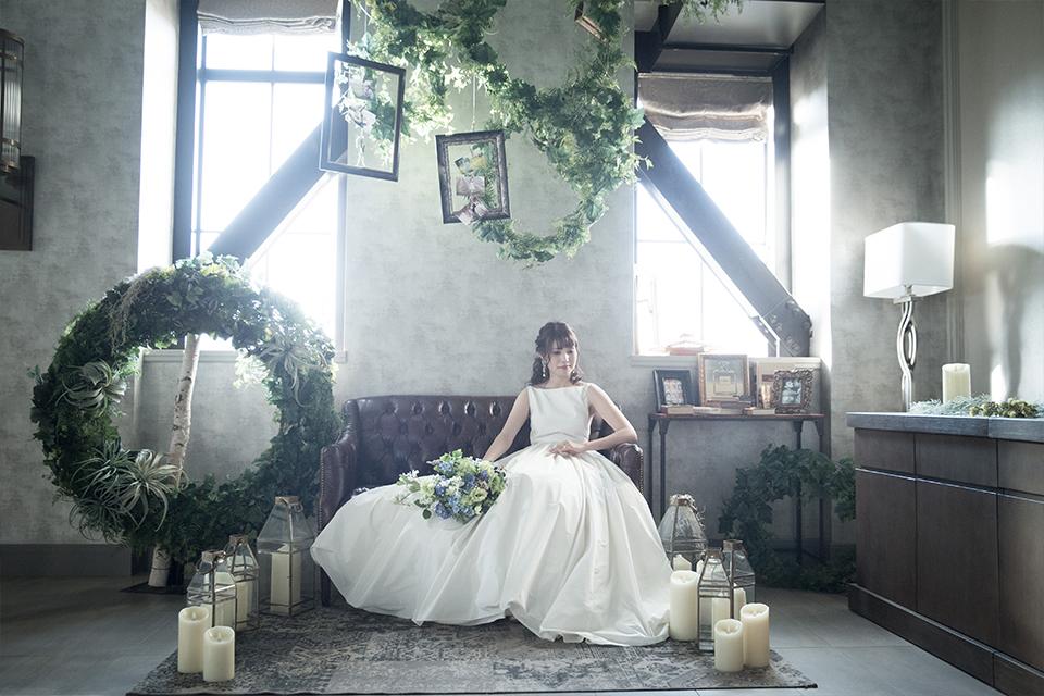 新婦のウェディングドレス姿5